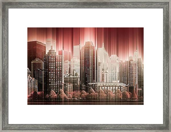 Good Morning Hudson Framed Print