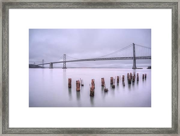 Good Morning San Francisco Framed Print