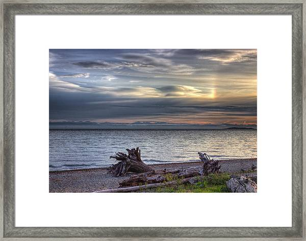 Framed Print featuring the photograph San Pareil Sunrise by Randy Hall