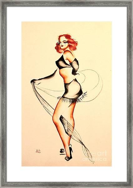 Good Night Ladies Dancer Framed Print