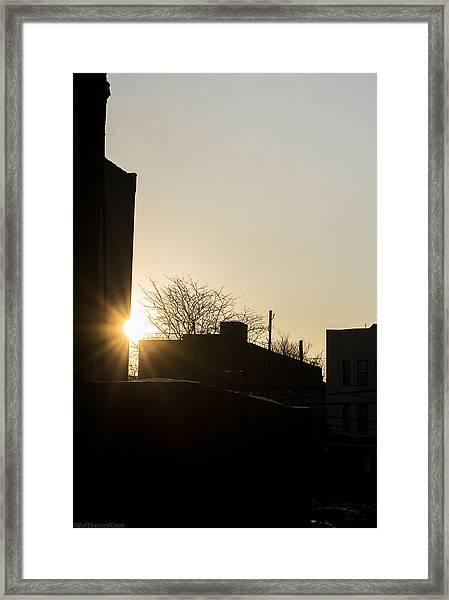 Good Night Framed Print by WellDressedGeek