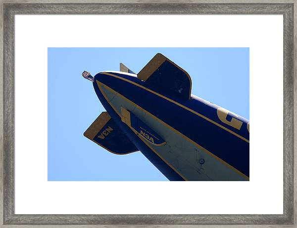 Good Year Blimp N3a Framed Print