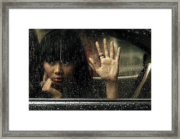 Goodbye My Lover Framed Print