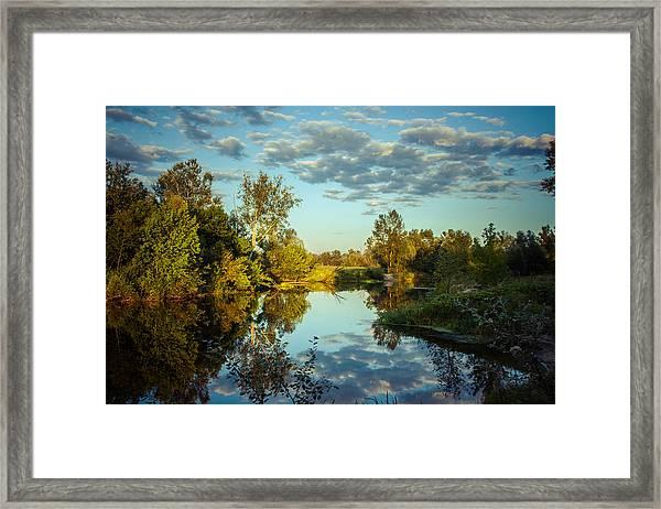 Goodbye Sunny Day Framed Print