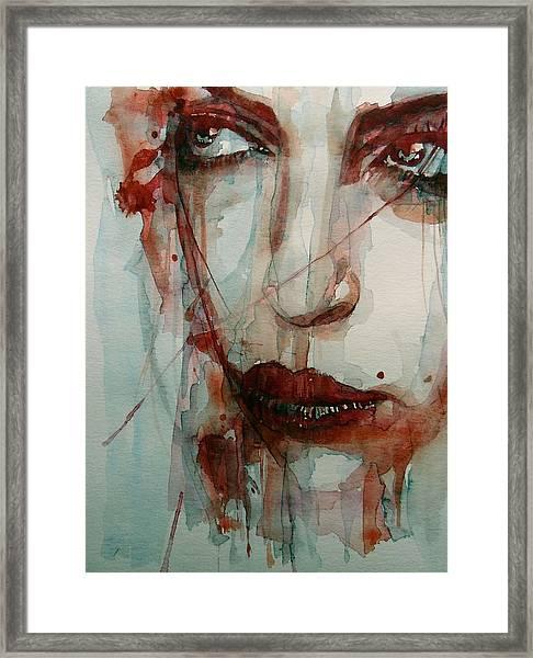 Goodbye To Love Framed Print