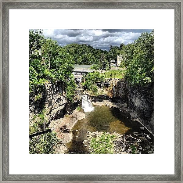 Gorges Framed Print