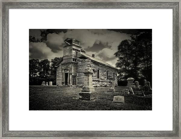 Gospel Center Church II Framed Print
