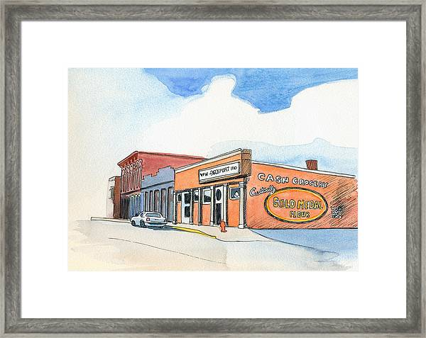 Gosport Indiana 1 Framed Print