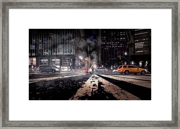 Gotham - Breaking Dawn Framed Print by Jackson Carvalho