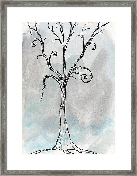 Gothic Tree Framed Print