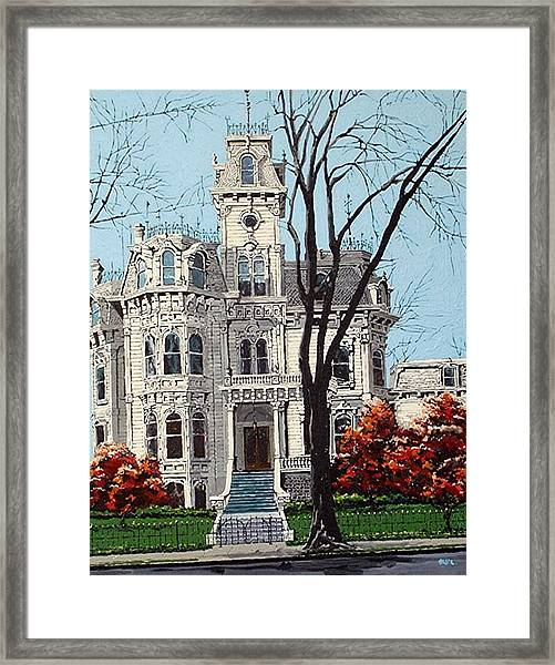 Governor's Mansion Framed Print by Paul Guyer