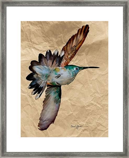 Da180 Grace Daniel Adams Framed Print
