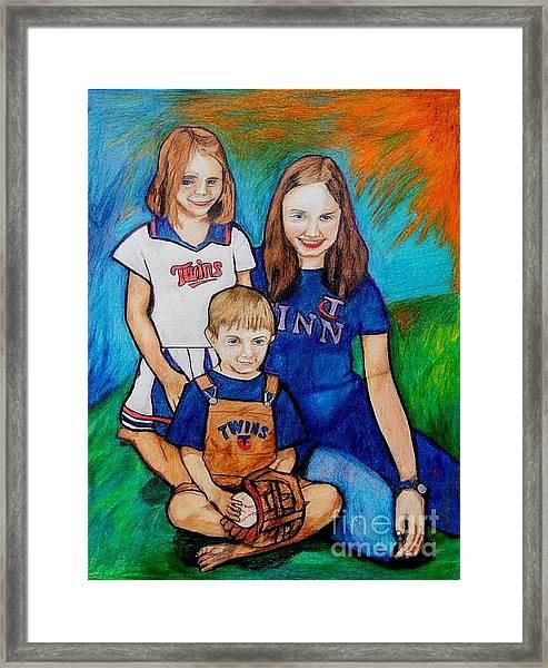 Grace Noah Aleesha Framed Print