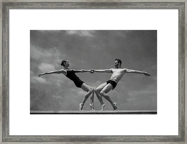 Grace&strenght 2.0 Framed Print