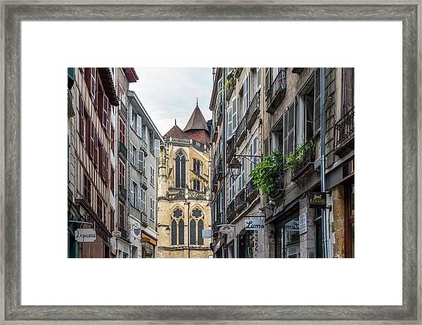 Grand Bayonne Quarter Looking Towards Framed Print