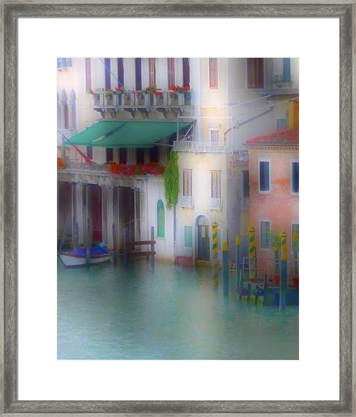 Grand Canal Sunrise Framed Print