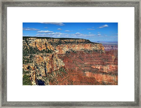 Grand Canyon North Rim Framed Print by Thomas  Todd