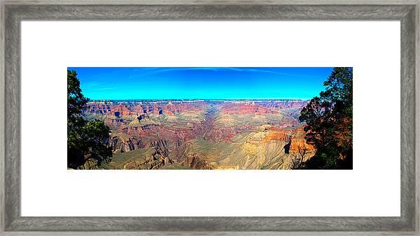 Grand Canyon Panorama Framed Print