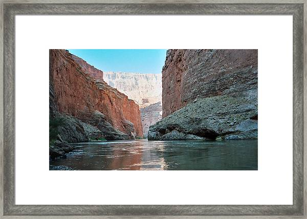 Grand Canyon Sky Framed Print