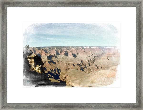Grand Canyon Softness Framed Print