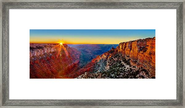 Grand Canyon Sunset Framed Print by Az Jackson