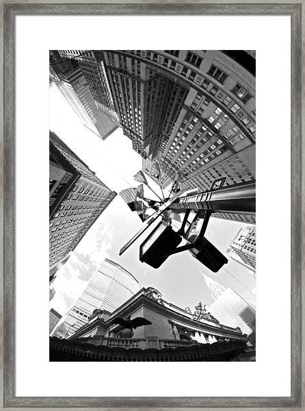 Grand Central America Framed Print