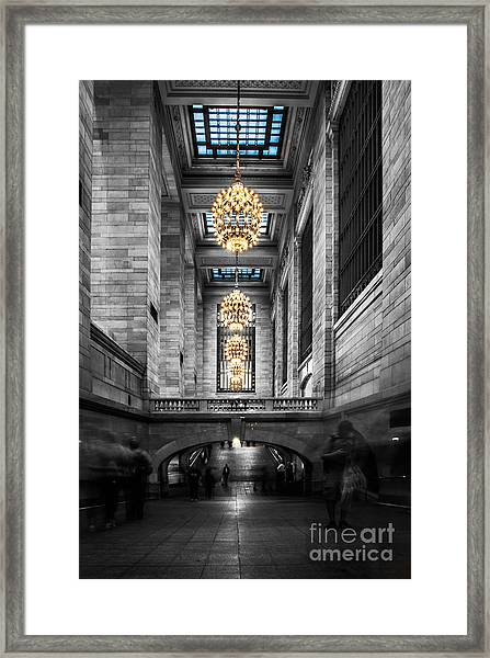 Grand Central Station IIi Ck Framed Print