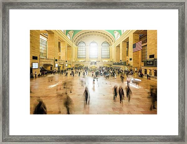 Grand Central Station, New York City Framed Print