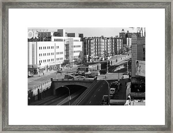 Grand Concourse Bronx Framed Print