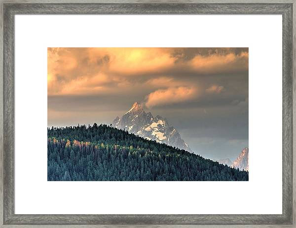 Grand Morning Framed Print