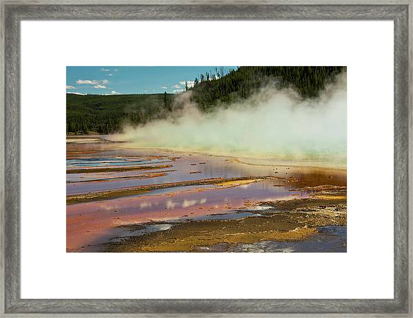 Grand Prismatic Spring, Yellowstone Framed Print