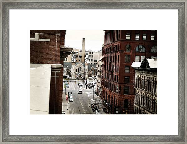 Grand Rapids 10 Framed Print