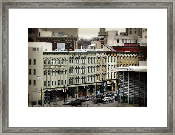 Grand Rapids 19 Framed Print