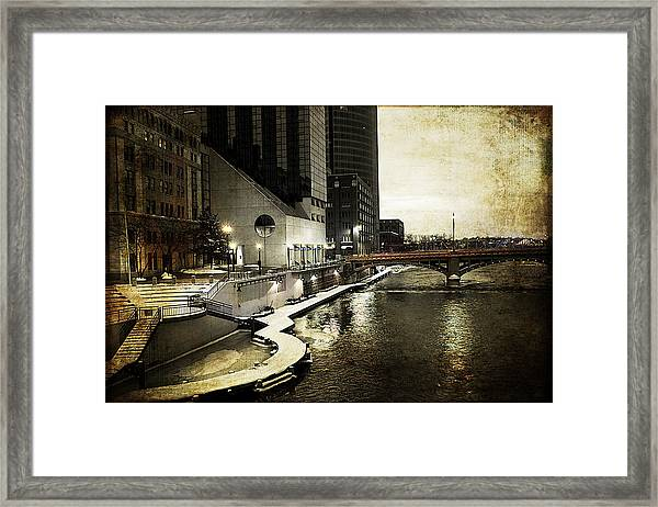 Grand Rapids Grand River Framed Print
