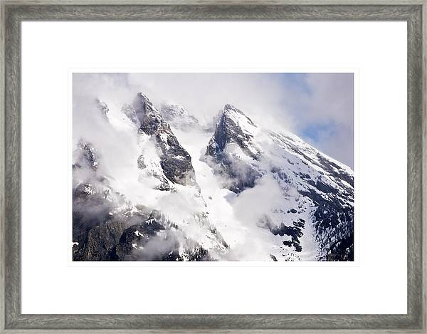 Grand Teton Glacier Framed Print
