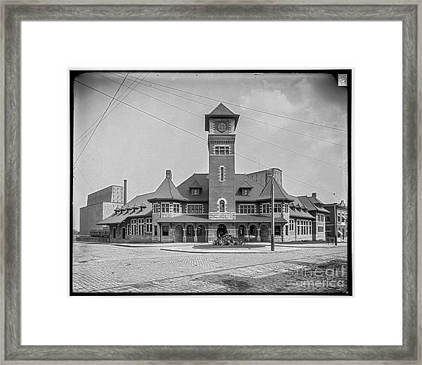 Grand Trunk Station Framed Print