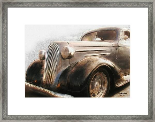 Granddads Classic Car Framed Print