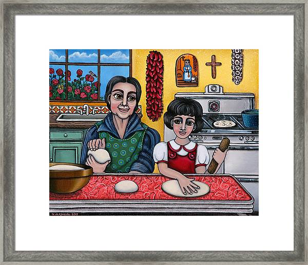 Grandma Kate Framed Print
