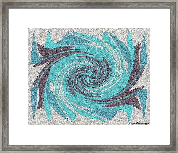 Granite Tile 1 Framed Print