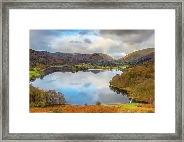 Grasmere, Lake District National Park Framed Print by Chris Hepburn