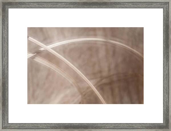 Grass - Abstract 2 Framed Print