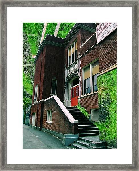 Grassroots Education Framed Print