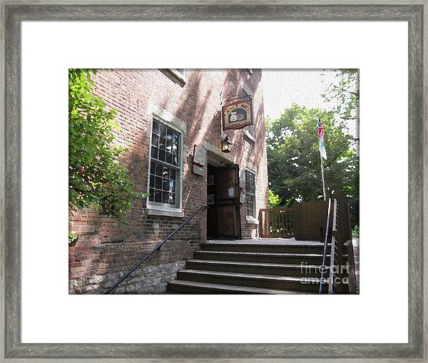 Graue Mill Framed Print
