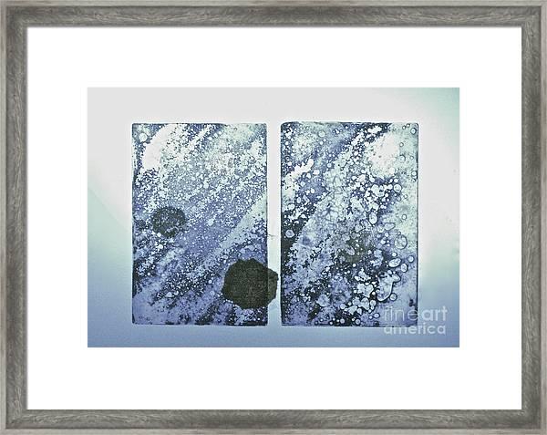 One World Framed Print