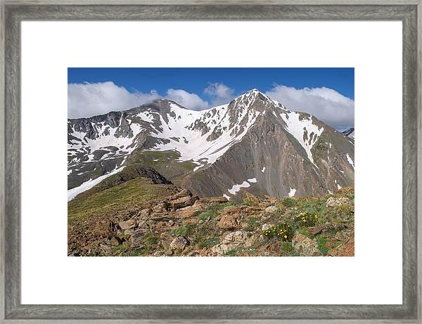Grays And Torreys Peak Framed Print