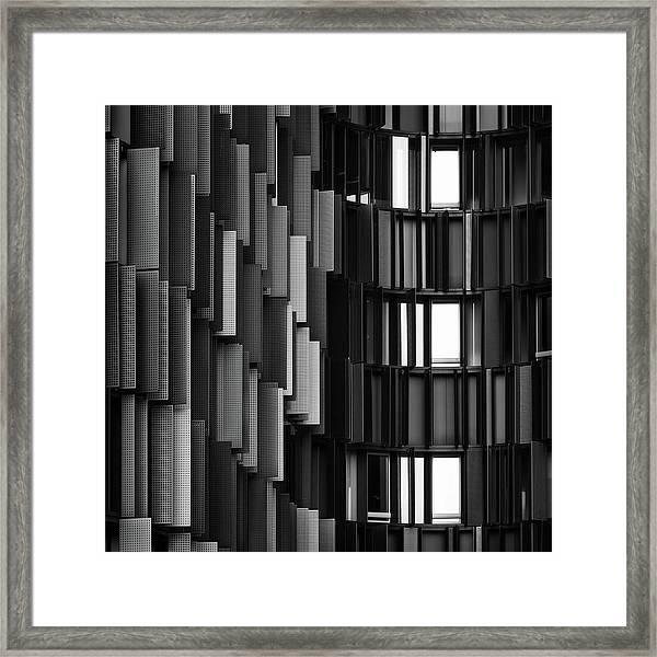 Grays Break Up Framed Print by Gabriele Cavazzini