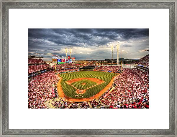 Great American Ballpark Framed Print