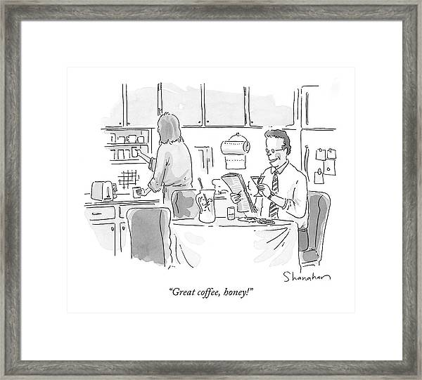 Great Coffee Framed Print