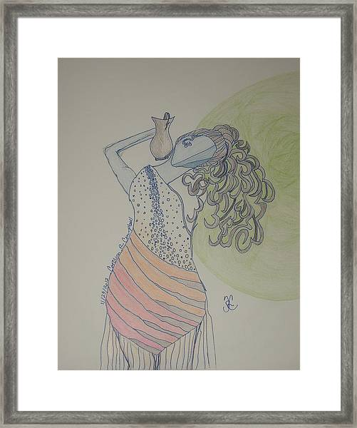 Greek Goddess Framed Print