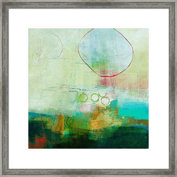 Green And Red 6 Framed Print